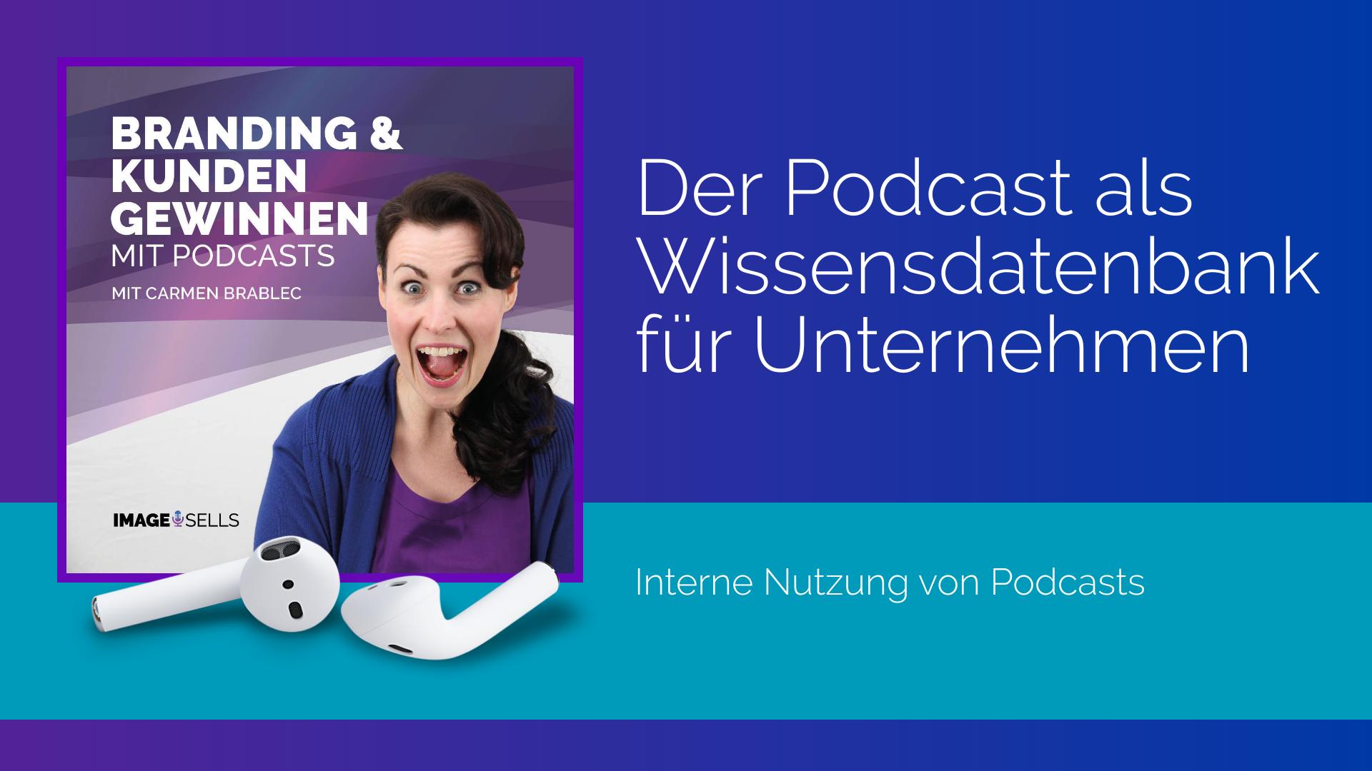 Der Podcast als interne Wissensdatenbank für Unternehmen