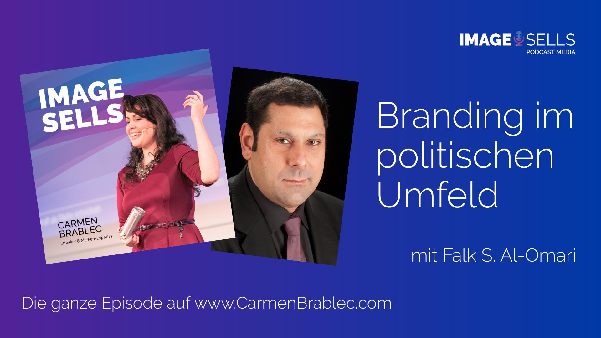Branding im politischen Umfeld mit Falk S. Al-Omari